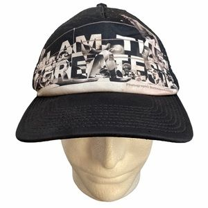"Muhammad Ali ""I Am The Greatest"" Snapback Hat"